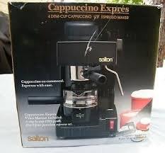 Salton 4 Demi-Cup Cappuccino Espresso Maker (Salton Cappuccino compare prices)
