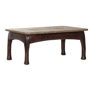 Stylefurniture 6035 Couchtisch, Holz, braun, 110 x 70 x 47 cm