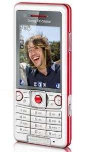 Sony Ericsson C510 [Energetic Red]