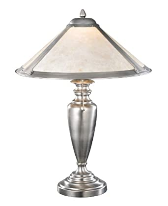 23 inch h van erp silver mica table lamp table lamps for 6 inch table lamp