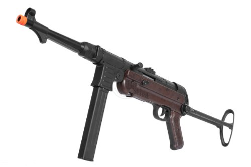 AGM WWII MP40 Airsoft AEG Rifle w Full Metal Rear Stock