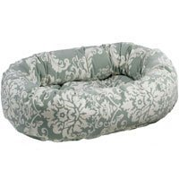 Bowsers Microvelvet Donut Dog Bed in Firenze (Firenze, Small (27in x 22in))