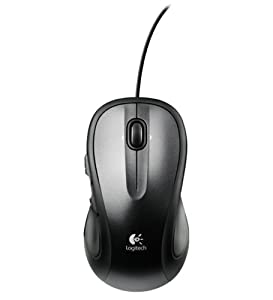 Logitech M318E Wired Laser USB Mouse - Black