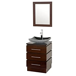 22 Inch Pedestal Sink : Wyndham Collection Rioni 22 inch Pedestal Bathroom Vanity in Espresso ...
