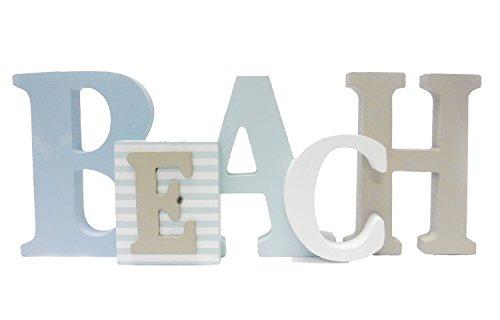 1 X Beach Word Sign