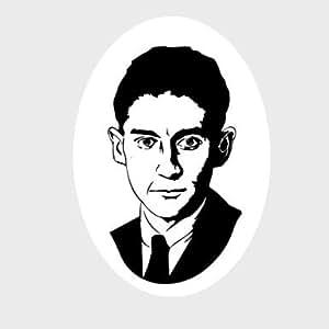 Franz Kafka - Portrait Aufkleber Autoaufkleber