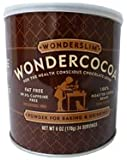 Wonderslim Wondercocoa Powder, 6 oz (Pack of 6)