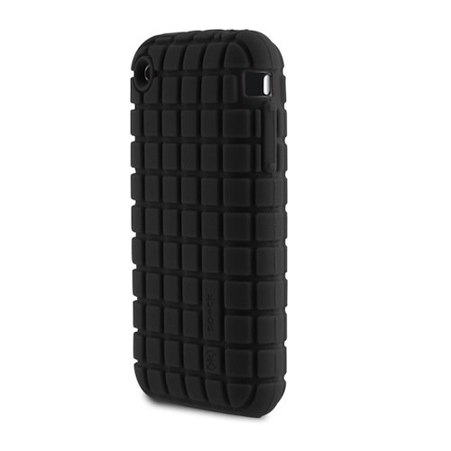 Speck Products PixelSkin for iPhone 3G/3GS - Licorice Black