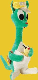 Dakin Dream Pets Matilda the Green Kangaroo Plush