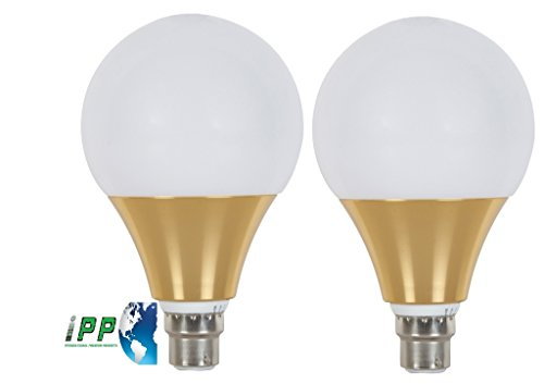 16W-B22-Aluminium-Body-White-LED-Bulb-(Pack-of-2)