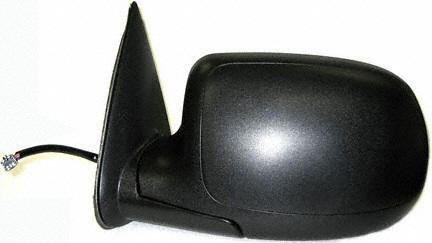 00-02 CHEVY CHEVROLET SUBURBAN MIRROR LH (DRIVER SIDE) SUV, Power, Heated, Manual Fold, w/Puddle Lamp, Grained Cover, w/o Dimmer (2000 00 2001 01 2002 02) CV19EL 15179836