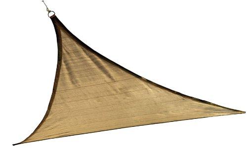 ShelterLogic 25721 16'x16'x16′ Triangle Sand Sun Shade Sail