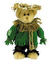 TY Attic Treasure - ALFALFA the Scarecrow Bear - 1