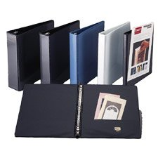 SPR19552 Round Ring View Binder, 1/2