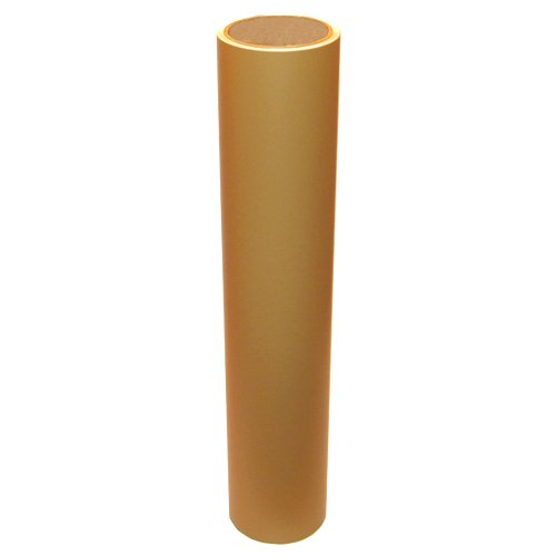 Vinyl Oasis Craft & Hobby Vinyl - Matte Light Brown W/ Removable Adhesive - 12 In. X 10 Ft. Roll