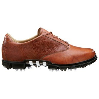 Adidas Mens AdiPure Motion Golf Shoes (Brown/Brown) 2013 Mens 8.5 Brown/Brown/Scout Metallic Wide Fit Mens 8.5 Brown/Brown/Scout Metallic Wide Fit