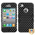 Product B00974XL0Q - Product title MYBAT IPHONE4AVHPCTUFFIM031NP Premium TUFF Case for iPhone 4 - 1 Pack - Retail Packaging - Black Vintage Heart Dots/Black