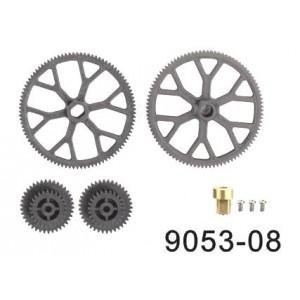 DH top bottom main gear for 9101-08 or 9053-08 or 9050-08