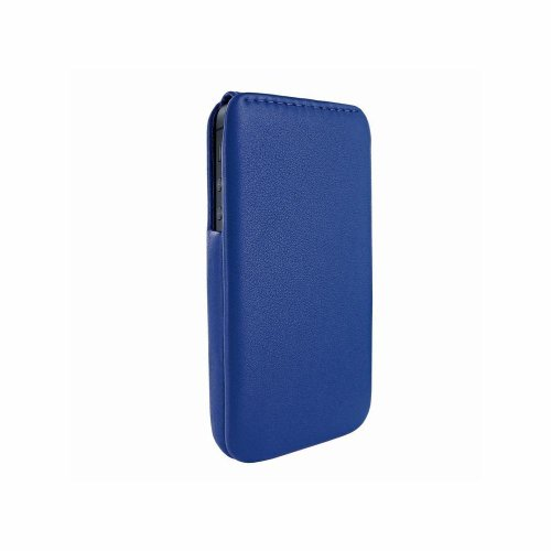 Best Price Apple iPhone 5 / 5S Piel Frama iMagnum Blue Leather Cover