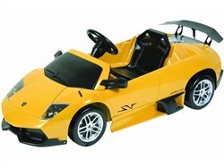 Kalee Yellow Lamborghini Murcielago LP670 6 Volt Battery Operated Riding Toy