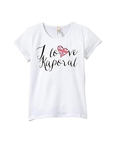 Kaporal Camiseta Manga Corta Blanco