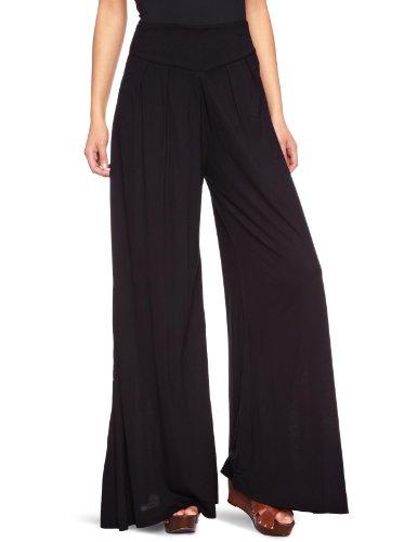 Full Circle Junya Flared Women's Trousers Black-R