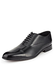 Collezione Leather Extra Wide Panelled Shoes