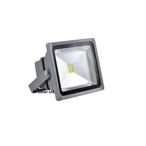 Xtraled 50 Watt Led Waterproof Outdoor Security Led Floodlight 90-260 Volt Ac, Super Bright White