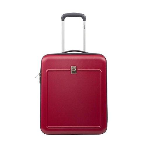 visa-delsey-koffer-kabine-hartschale-abs-und-polycarbonat-2-rollen-50-cm-easy-fly-rot
