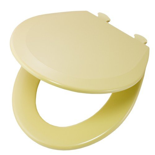 Fine Buy Bemis 500Ec031 Molded Wood Round Toilet Seat With Easy Ncnpc Chair Design For Home Ncnpcorg