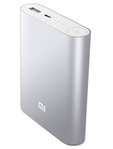 Xiaomi PowerBank 10.400 mAh color gris metalizado. Carga tu móvil a través del puerto microUSB en caso de quedarte sin batería. Tamaño bolsillo ideal