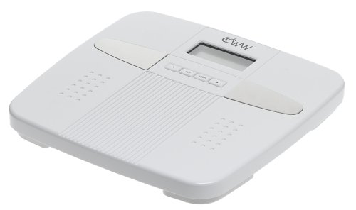 Image of Weight Watchers Body Fat Precision Electronic Scale, White (WW33)