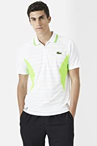 Andy Roddick Ultra Dry Geometric Stripe and Color Block Polo