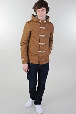 Mens Hooded Toggle Jacket