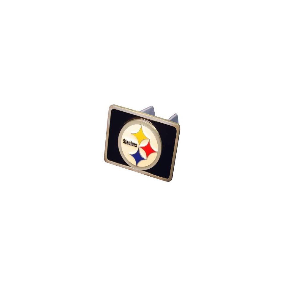 c80de16139c70d Pittsburgh Steelers Trailer Hitch Cover on PopScreen