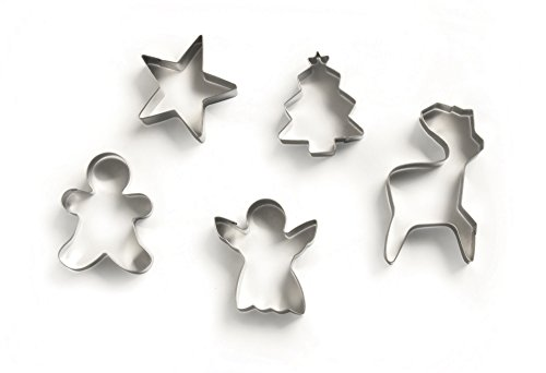 excelsa-cookies-time-christmas-cookie-cutters-set-of-5-stainless-steel-silver-16-x-21-cm-x-2-cm