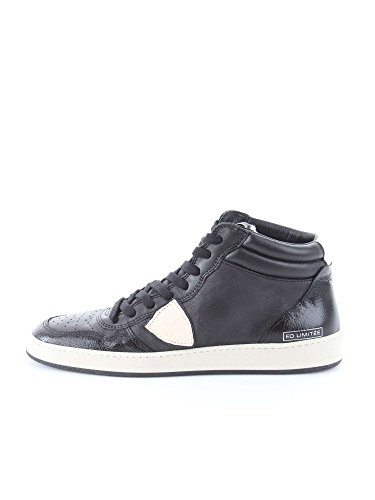 PHILIPPE MODEL PARIS LKHU VL14 BLACK WHITE SNEAKERS Uomo BLACK WHITE 44