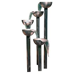 Aquafires Stainless Steel Tier 5 Fountain