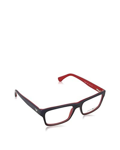 Emporio Armani Montatura 3050_5347 (53 mm) BLUEE GRADIENT RED ON RED WITH-LENS