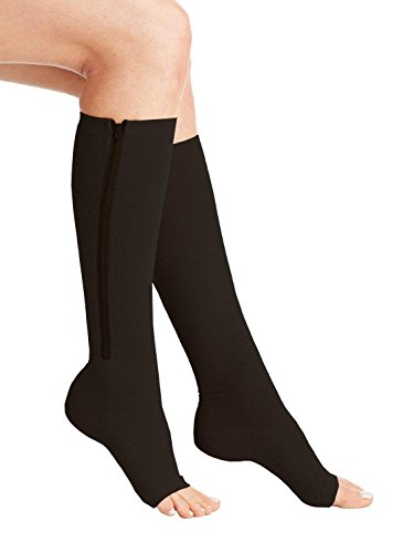 Wellington Orthopedic Women's Medium Pressure Treatment 20-30 mmHg Medical Compression Stockings, Black, X-Large, 6.95 Ounce (Orthopedics Llc compare prices)