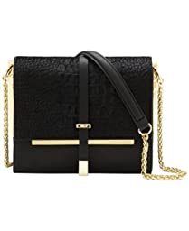 Vince Camuto Leila Shoulder Bag,Black,One Size