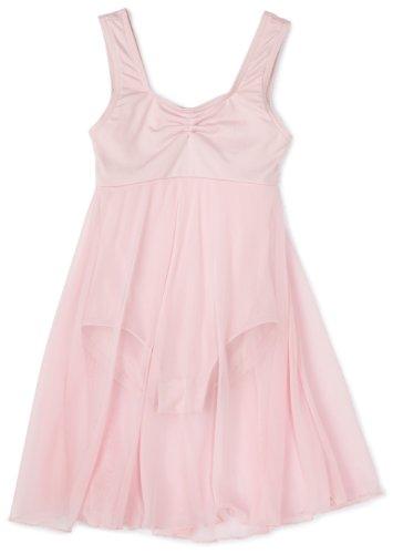 Capezio Little Girls' Empire Dress Leotard,Pink,T (2-4) front-893774