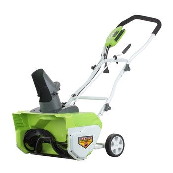Read About Greenworks 26032 20-Inch 12 Amp Electric Snow Thrower