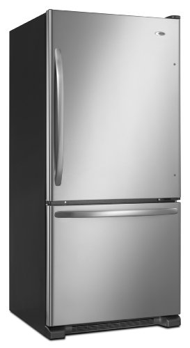 Amana 18.5 -Cubic Foot Bottom-Freezer Refrigerator, ABB1924WES