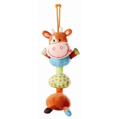 Lilliputiens Vibrating Dancing Stroller/Crib Vicky the Cow Toy