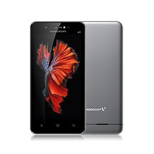 Videocon Graphite V45ED 4G VoLTE Android Smartphone-Grey