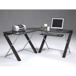 Buy Low Price Comfortable X – Text – L – Shaped Computer Desk XT25L (B004OFPL9M)