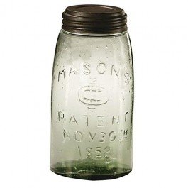 1 X Mason Fruit Jar - Quart Quart (Qt Canning Jars compare prices)