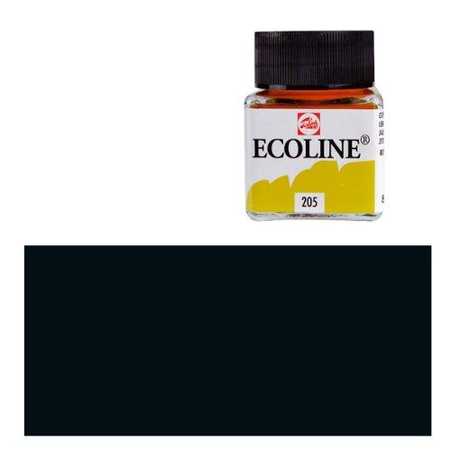 Ecoline-fluessige wasserfarbe-noir - 30 ml