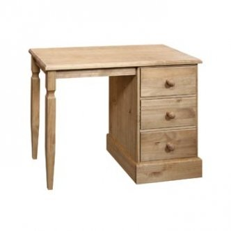 Cotswold Dressing Table With Single Pedestal